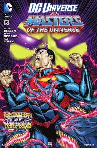 DC Universe vs Masters of the Universe comic 5