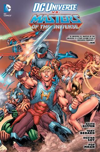 DC Universe vs Masters of the Universe comic 7