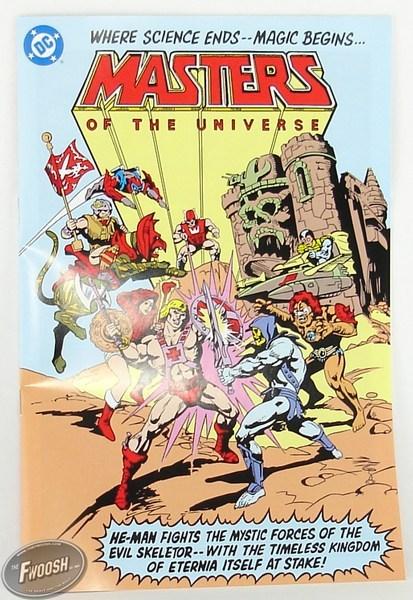DC Universe vs Masters of the Universe comic