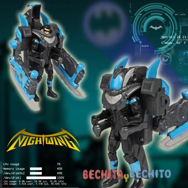 Nightwing Mega Gear