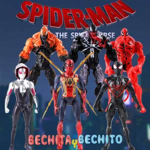 Spider Man Set  6 figuras