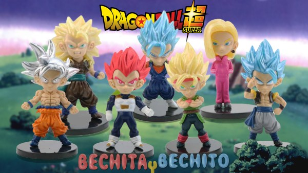 Dragon Ball Super Gashapones x 7