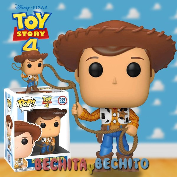 Funko Pop Woody 522 Toy Story 4