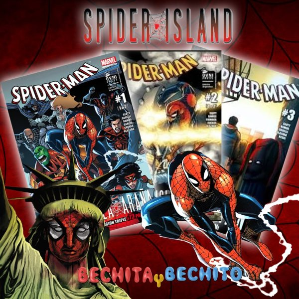 spider man isla Araña