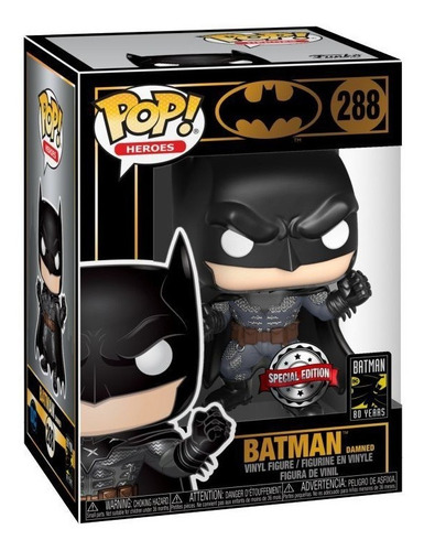 Funko Pop Batman Damned 288 bechita y bechito 1