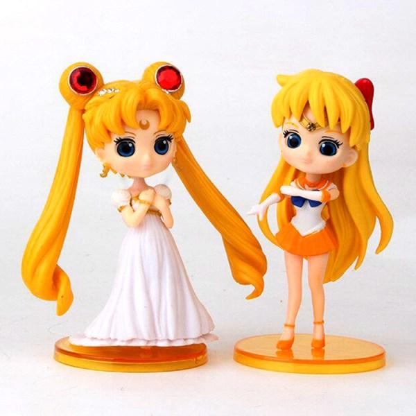 Sailor Moon Gashapones x 6 figuras A