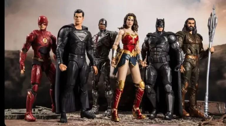 Justice League Snyder Cut McFarlane Toys liga de la jsuticia