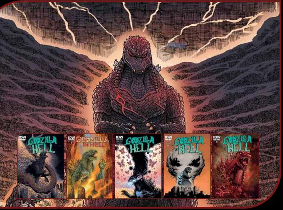 godzilla in hell comic pop fiction