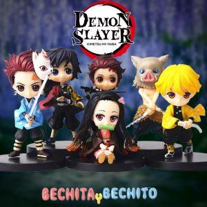 Demon Slayer Set de 6 figuras 7cm