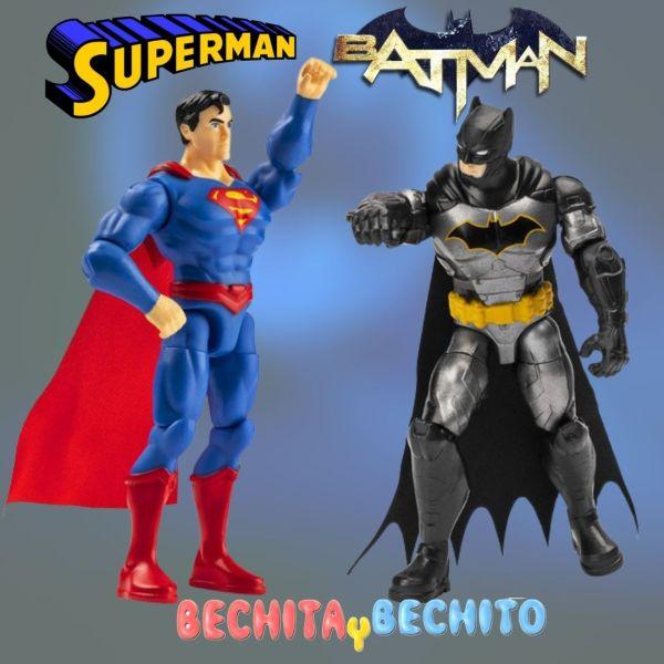 batman y superman spin master