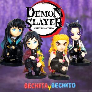 Demon Slayer Set de 4 figuras