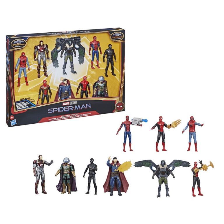 spider-man-no-way-home-web-gear-marvel-select-heroes-y-enemigos