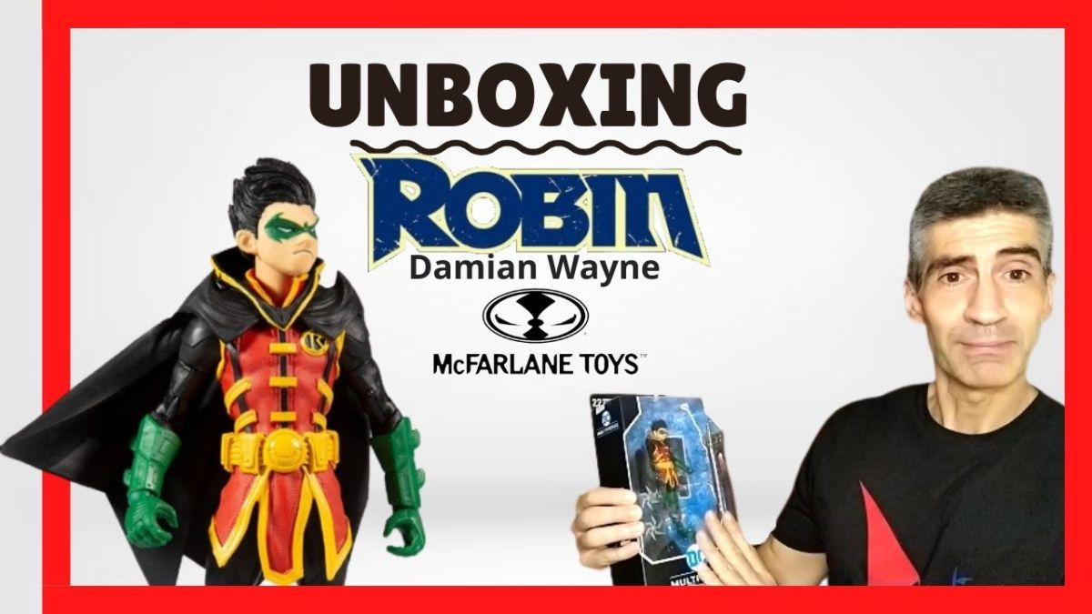 ✅ Unboxing Robin ( Damian Wayne ) McFarlane Toys DC Multiverse