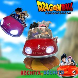 Dragon Ball Goku y Milk en Auto