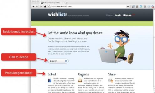 Wishlistr screenshot