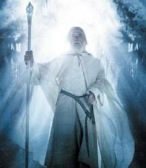 Gandalf med troldmandsstav