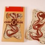 Chok-O-Blok - Hvid chokolade med lakrids