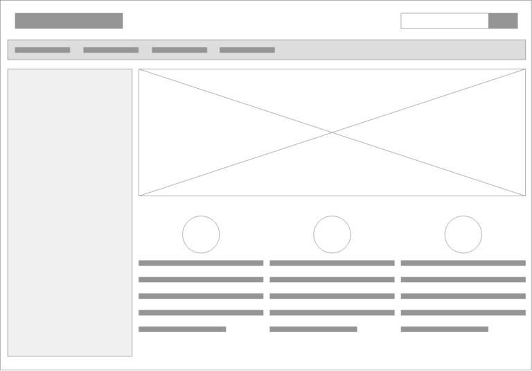 Typisk web layout
