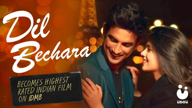 Dil Bechara Becomes Highest Rated Indian Film on IMDb