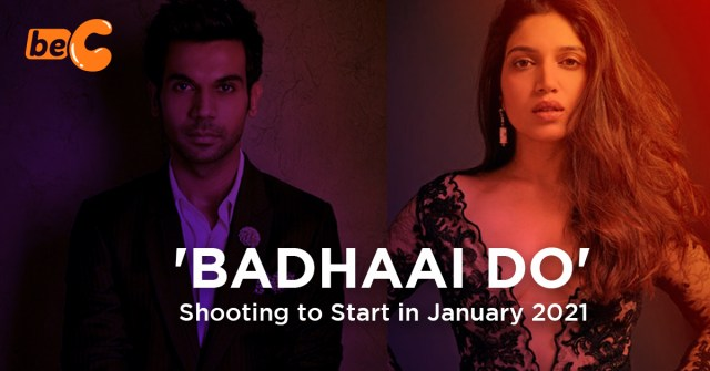 Rajkummar Rao to Start Shooting for 'Badhaai Do' in January 2021