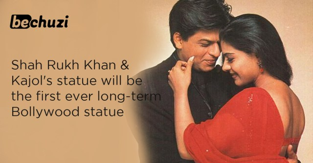 Shahrukh Khan & Kajol's statue first ever long term Bollywood statue in UK