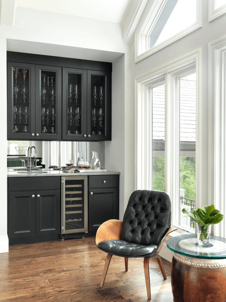 Custom Home Bar Designs Beck Allen Cabinetry