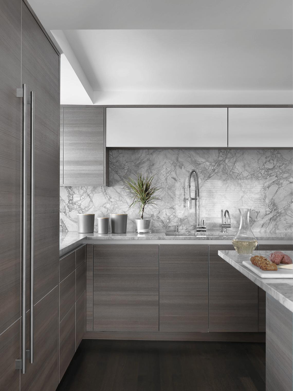 Modern Kitchen Close Up BeckAllen Cabinetry