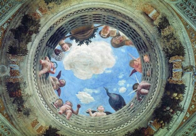 Andrea_Mantegna camera degli sposi 2