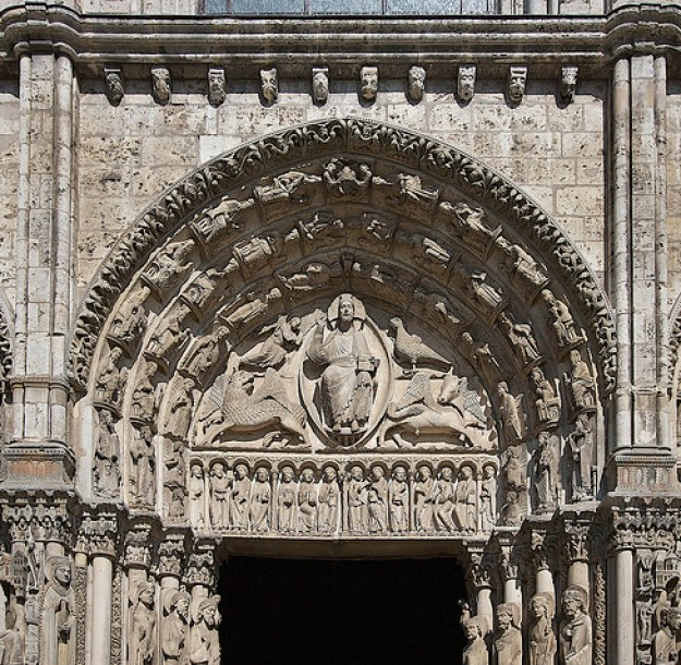 chartres cathedral royal portal