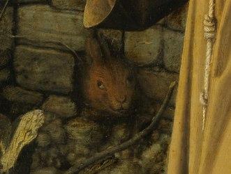 st francis rabbit