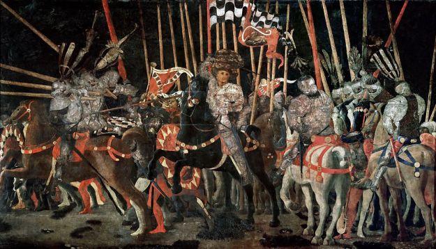 Uccello battle of san romano iii