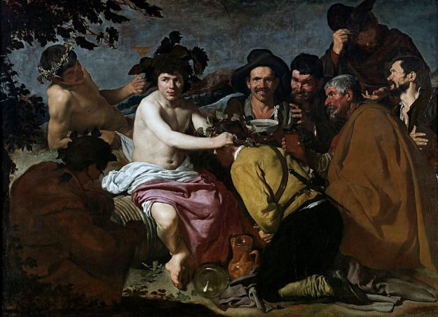 velazquez los borrachos