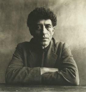 Alberto Giacometti.