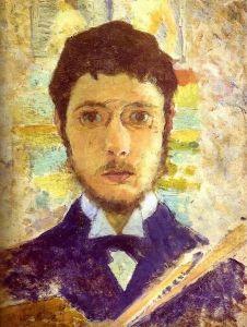 Self-Portrait of Pierre Bonnard (c. 1889).