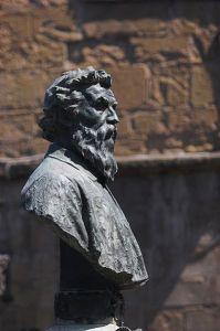 Bust of Benvenuto Cellini by Raffaello Romanelli (1901).