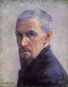 Self-Portrait of Gustave Caillebotte (c. 1892).