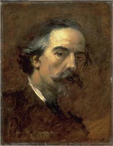 Self-Portrait by Jean-Baptiste Carpeaux.