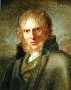 Portrait of Caspar David Friedrich by Gerhard von Kugelgen (c. 1810-1820).