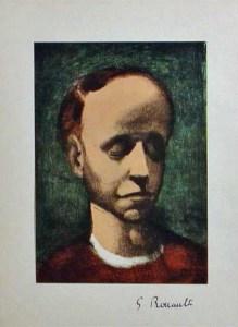 Self-Portrait of Georges Rouault (c. 1944).