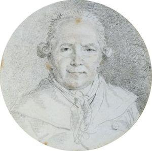 Self-Portrait of Jean-Honore Fragonard.