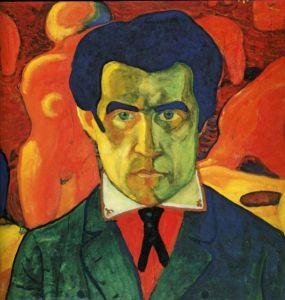 Self-Portrait of Kazimir Malevich (c. 1908-1912).