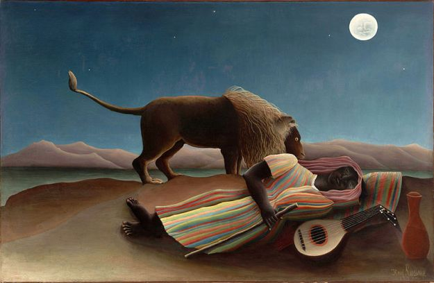 Rousseau - The Sleeping Gypsy