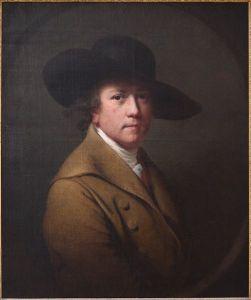 Self-Portrait of Joseph Wright of Derby (c. 1780).