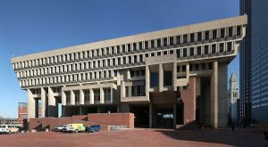 The much-maligned Boston City Hall topped the charts.