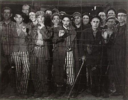 Prisoners at Buchenwald.