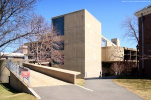 Harvard's Carpenter Center is the only Le Corbursier in the United States.