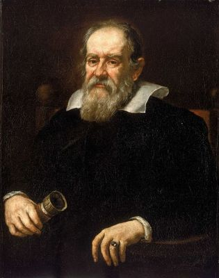 Portrait of Galileo Galilei by Justus Sustermans, from 1636. It is located in the National Maritime Museum, London.