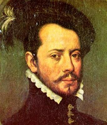 A portrait of Hernando (also known as Hernán) Cortés, possibly from the 16th Century.