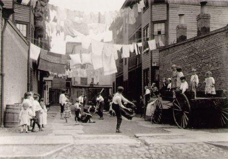 Playground in Tenement Alley.
