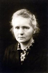 Marie Curie in 1920.